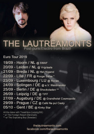 The Lautreamonts - Tour poster 2019