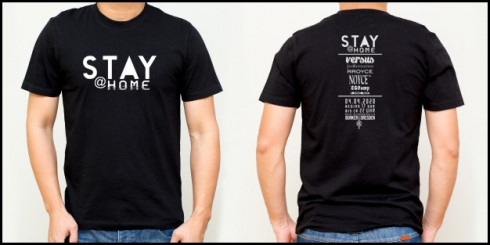 stay at home festival April 2020 Shirt