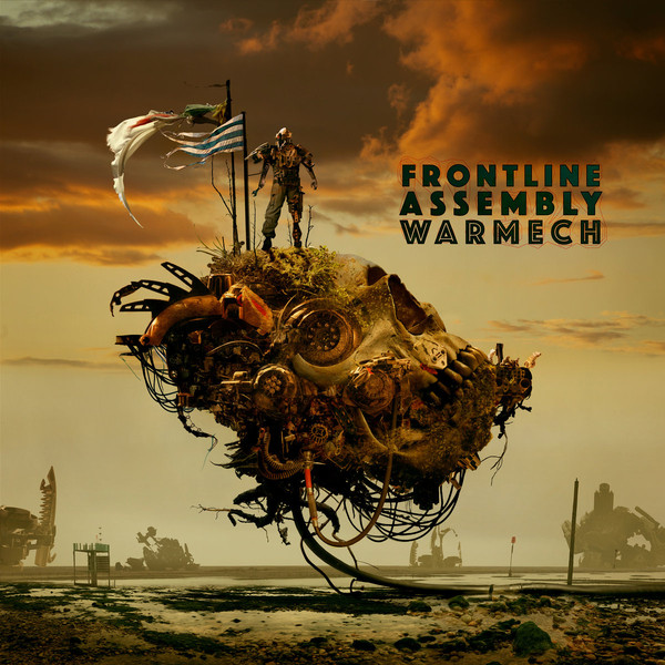 "Front Line Assembly ""Warmech"" Cover by Dave McKean"
