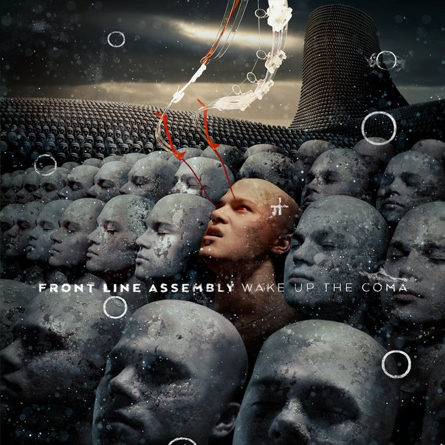 "FRONT LINE ASSEMBLY ""Wake Up The Coma"" - Artwork by Dave McKean"