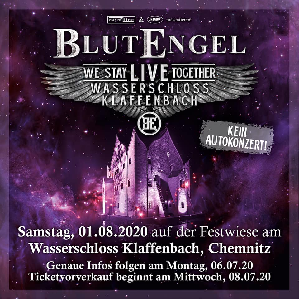 VNV NATION und BLUTENGEL exklusive Open Air-Shows 2020