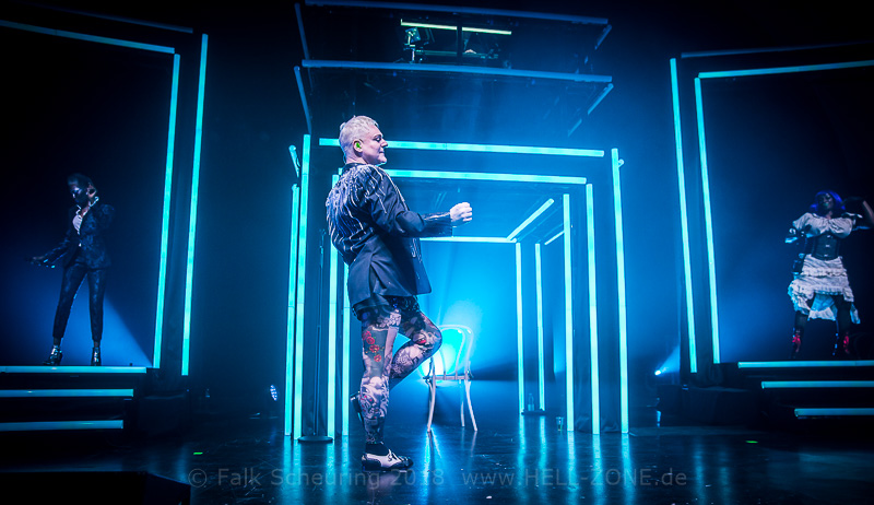 Erasure - World Be Gone Tour in Leipzig Foto: Falk Scheuring